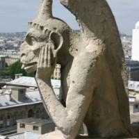Detail van de Notre-Dame
