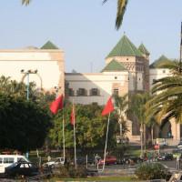 Gebouw in de Nouvelle Medina