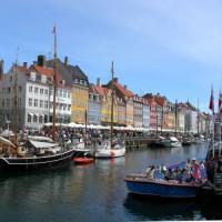 Zicht over de Nyhavn