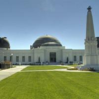 Gevel van het Griffith Observatory