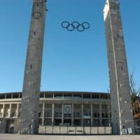 Buitenkant van het Olympiastadion