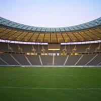 Grasmat van het Olympiastadion