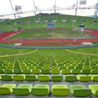 Tribunes van het Olympiastadion