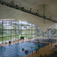 Zwembad in het Olympiapark