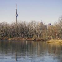 Zicht over het Ontariomeer