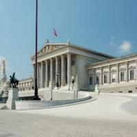 Plein voor het Oostenrijks Parlement