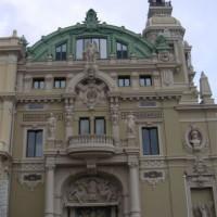 Detail van de Opera van Monte Carlo