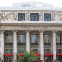 Deuren van de Opéra Municipal