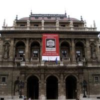 Vooraanzicht van Nationale Opera