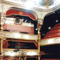 Binnen in het Grand Opera House