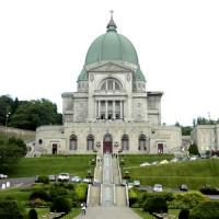 Voorkant van het Oratoire Saint-Joseph