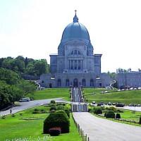 Trappen voor het Oratoire Saint-Joseph