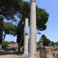 Zuilen in Ostia Antica