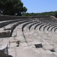 Tribunes in Ostia Antica