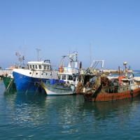 Vissersboten in Jaffa