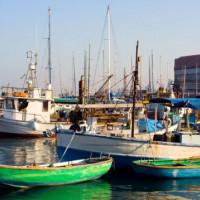 Bootjes in Jaffa