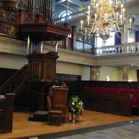 Binnenkant van de Oude Lutherse Kerk