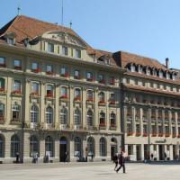 Gebouwen in de Oude stad van Bern