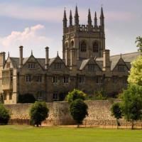 Zicht opde universiteit Oxford
