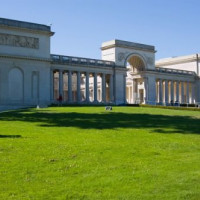 Vooraanzicht van het Palace of the Legion of Honor