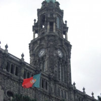 Toren van het Palácio da Bolsa