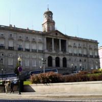Gevel van het Palácio da Bolsa