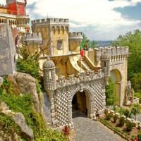Poort van het Palacio da Pena
