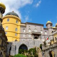 Gevel van het Palacio da Pena