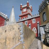 Zicht op het Palacio da Pena