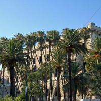 Zijkant van het Palacio de la Aduana