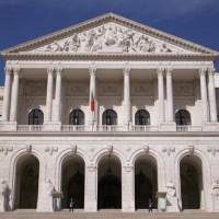 Voorgevel van het Palacio de São Bento