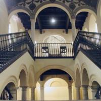 Trappen in het Palacio del Obispado