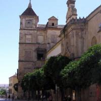 Zicht op het Palacio Episcopal