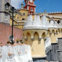 Torentjes van het Palacio da Pena