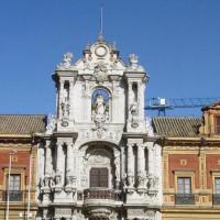 Gevel van het Palacio de San Telmo