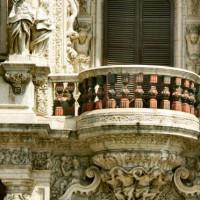Detail van het Palacio de San Telmo