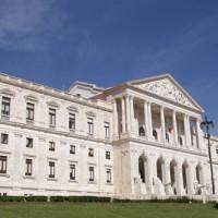 Zijaanzicht van het Palacio de São Bento