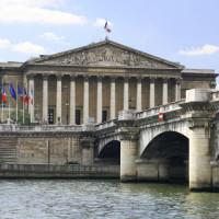 Gevel van het Palais Bourbon