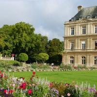 Stuk van het Palais du Luxembourg