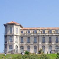 Zicht op het Palais du Pharo