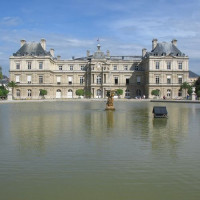 Overzicht van het Palais du Luxembourg