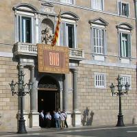 Ingang van het Palau de la Generalitat