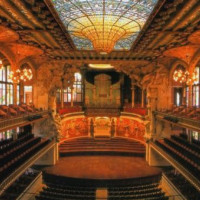 Zaal van het Palau de la Musica Catalana