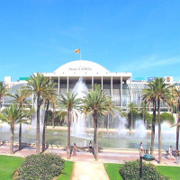 Fonteinen voor het Palau de la Música