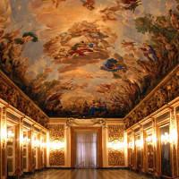Binnen in het Palazzo Medici-Riccardi