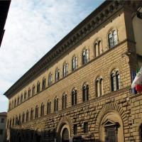 Gevel van het Palazzo Medici-Riccardi