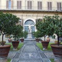 Binnenplein van het Palazzo Medici-Riccardi