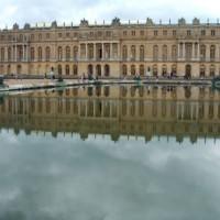 Vijver aan het Paleis van Versailles