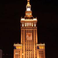 Nacht in Warschau