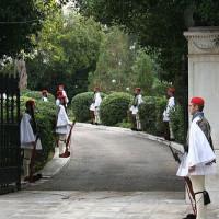 Pad naar het Presidentieel Paleis